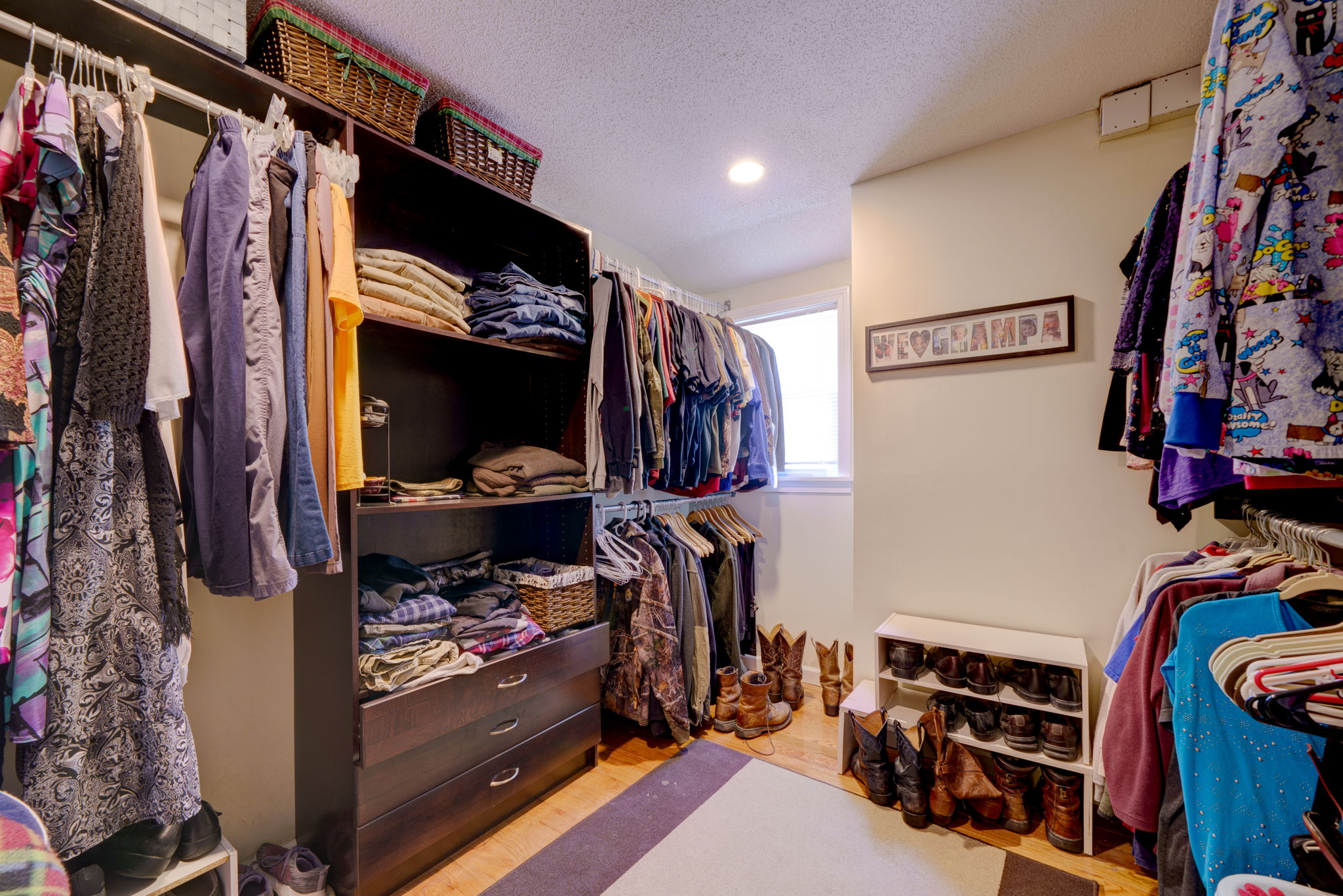 Master Bedroom Closet (3rd Floor)