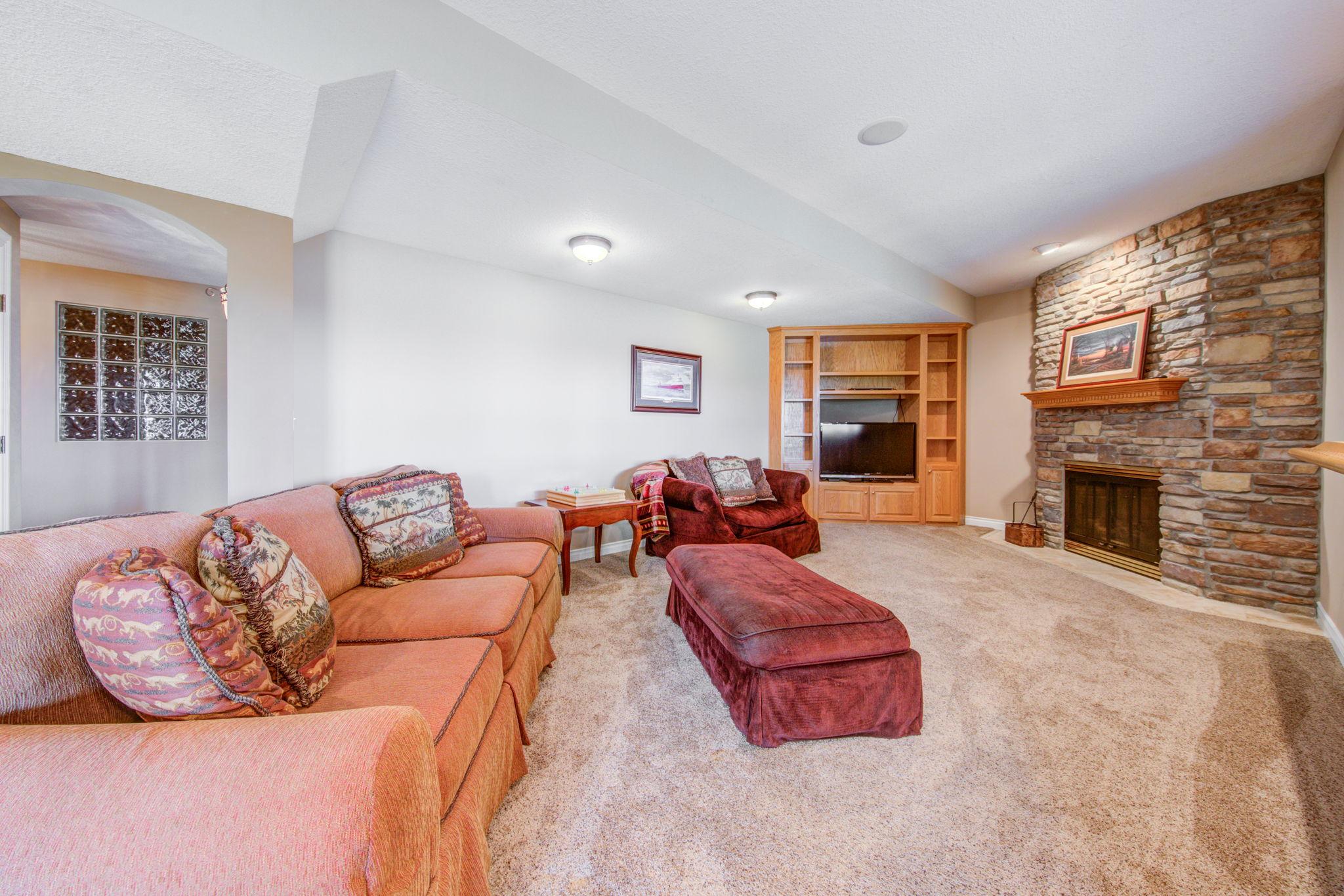 Lower Level- Family Room