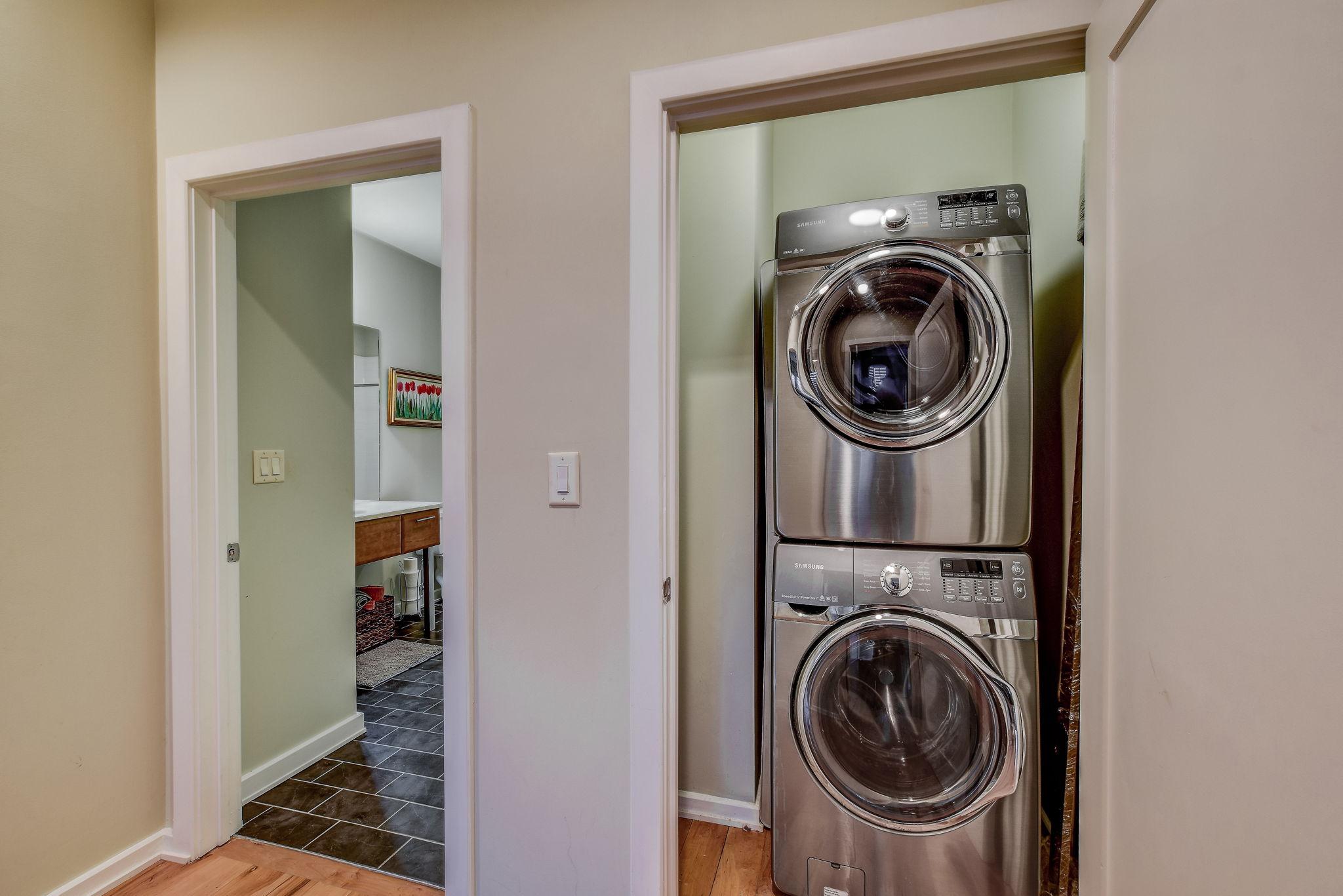 Upstairs Hallway/Laundry