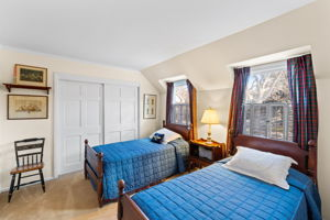 Secondary Bedroom upstairs