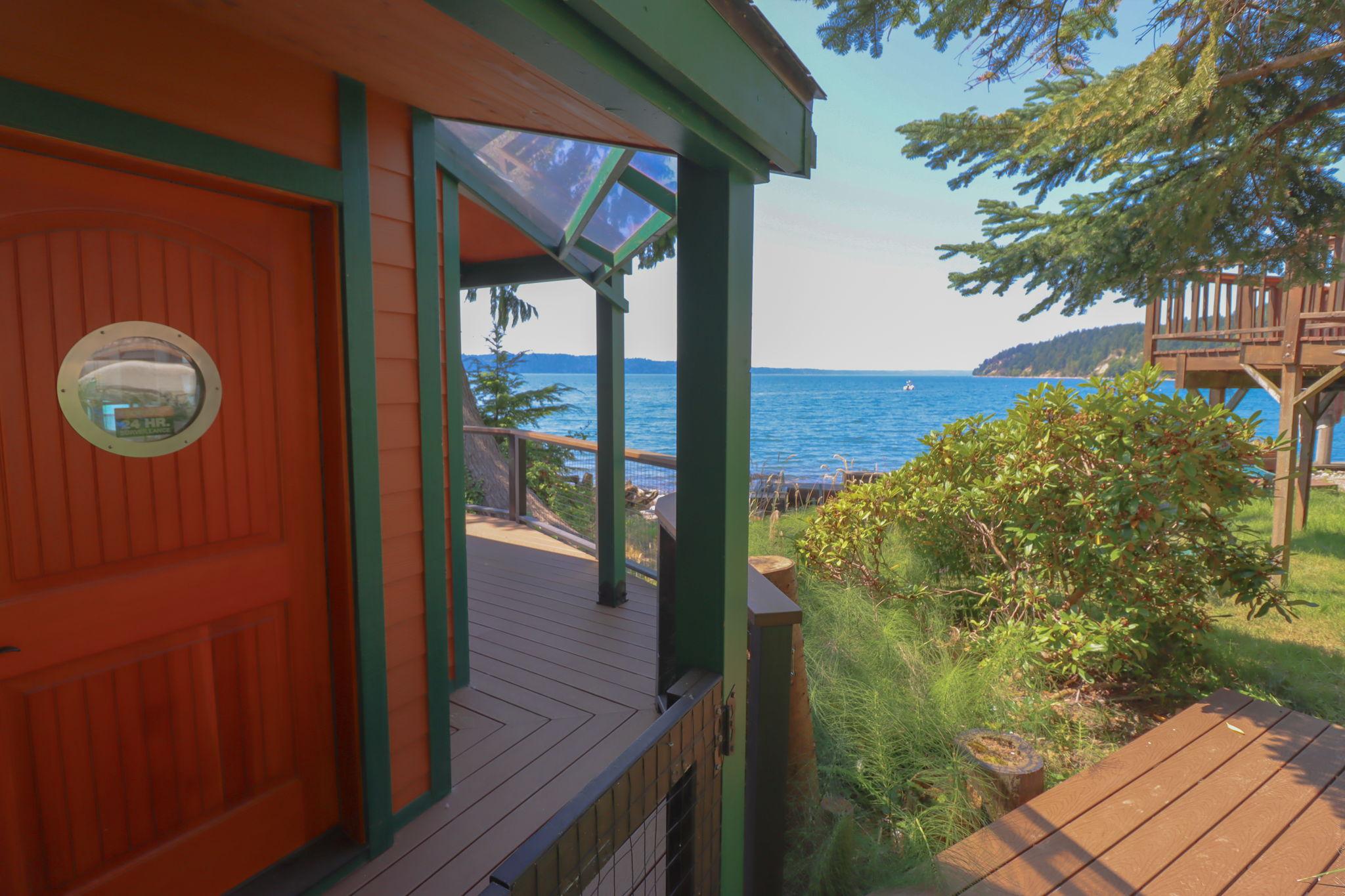 Front Door With View