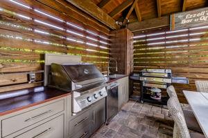 Summer Kitchen On Patio