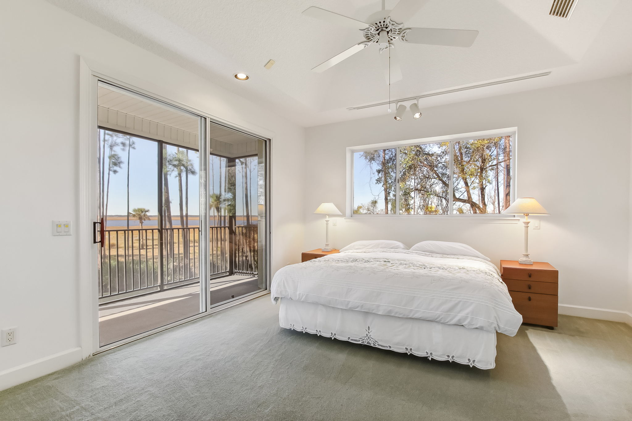 Primary Bedroom with views