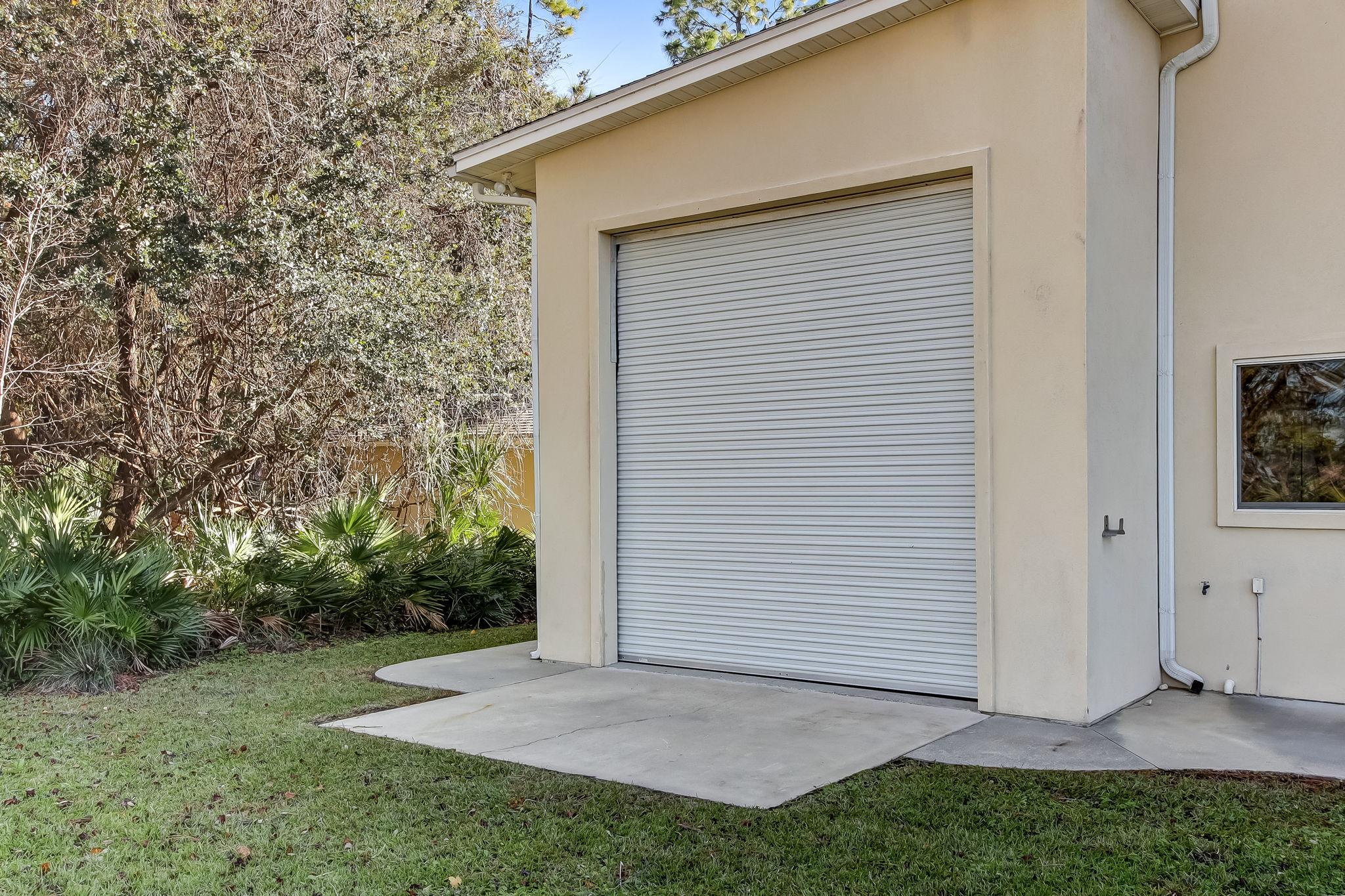 RV/Boat storage back door