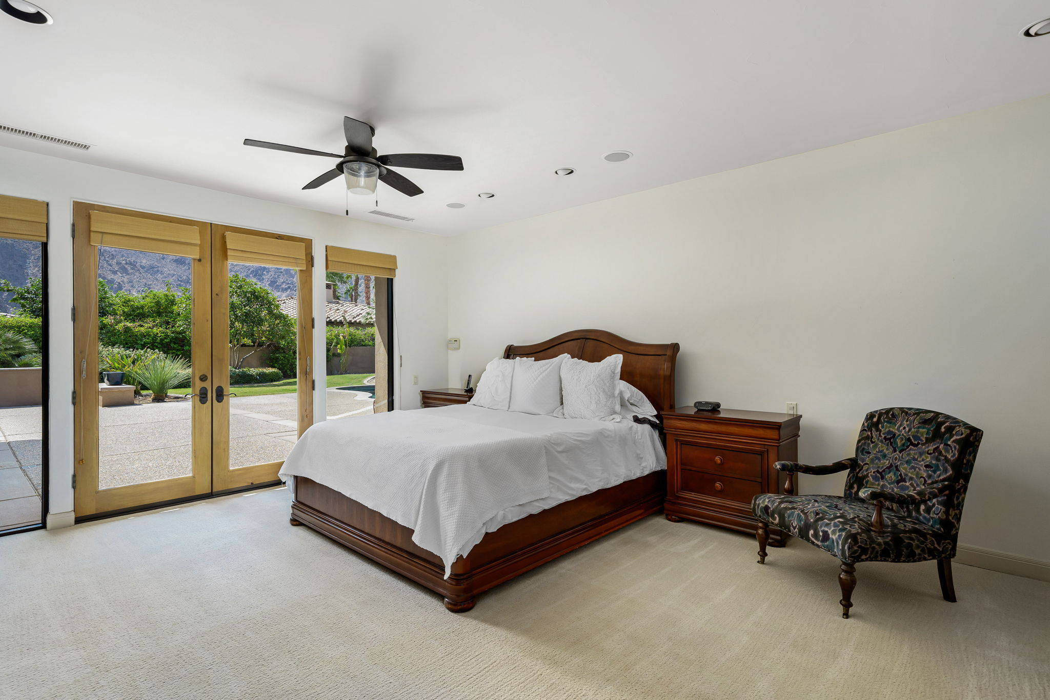 Master Bedroom with South Views