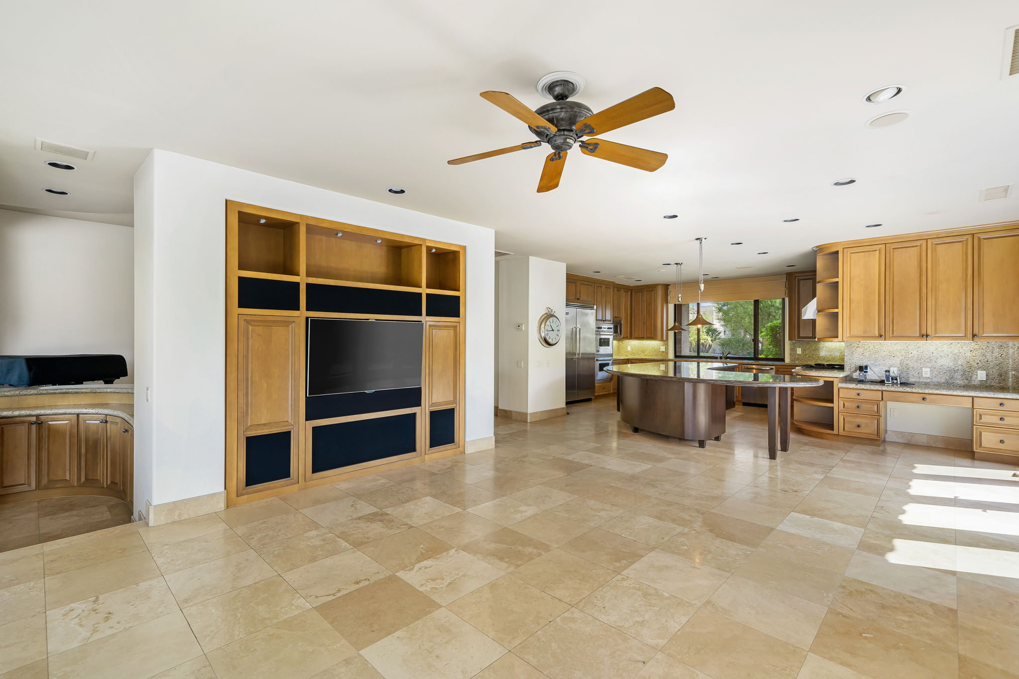 Family Room and Gourmet Kitchen