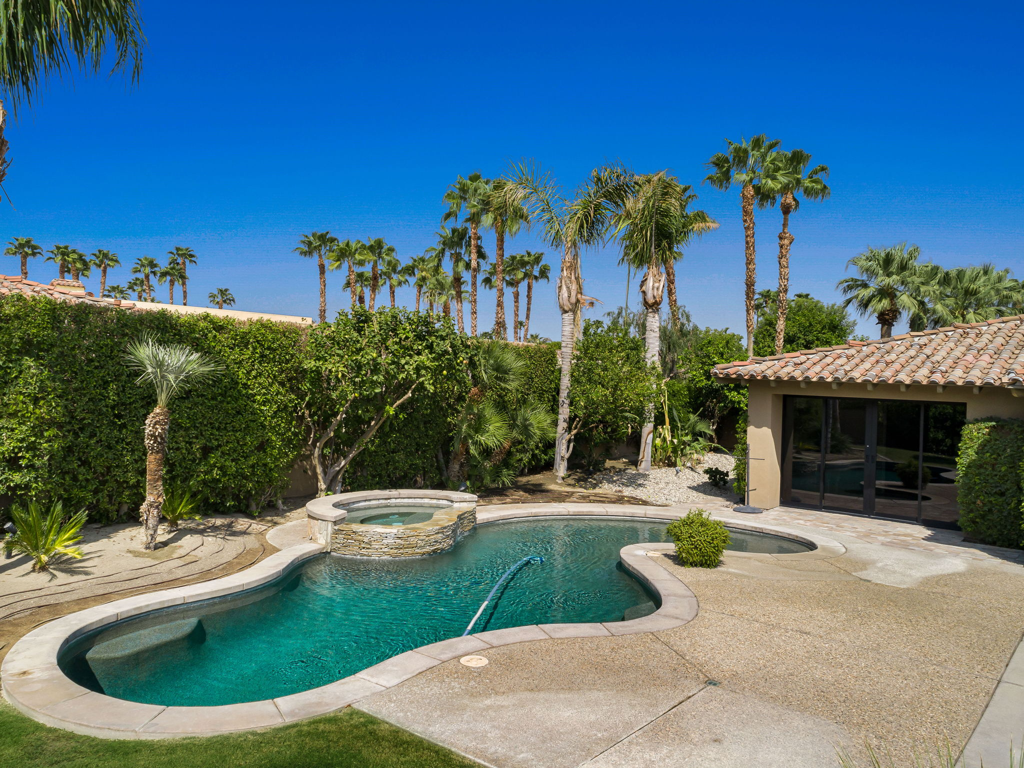 North Lawn , Pool/Spa and Patio