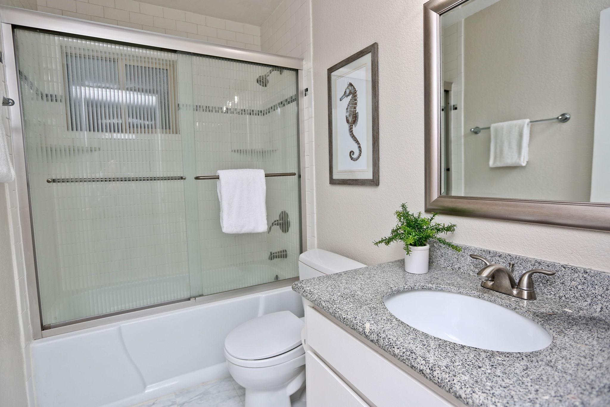 Refreshed Main Bathroom