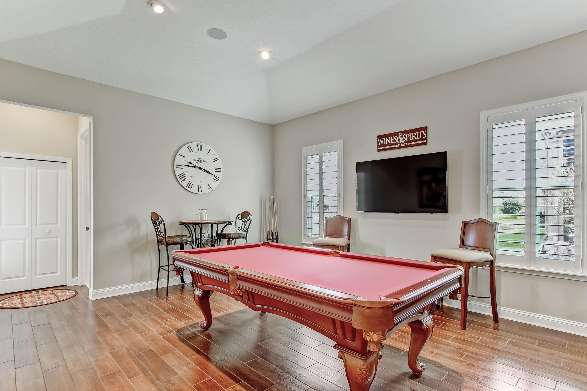 Recreation Bonus Room