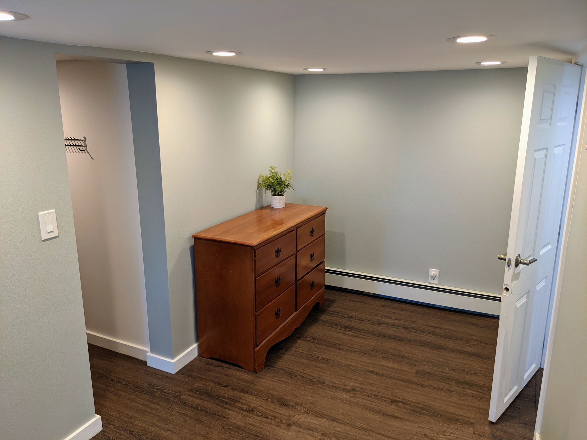 Spacious Primary Bedroom with Room for Dressers, Desk, or Reading nook