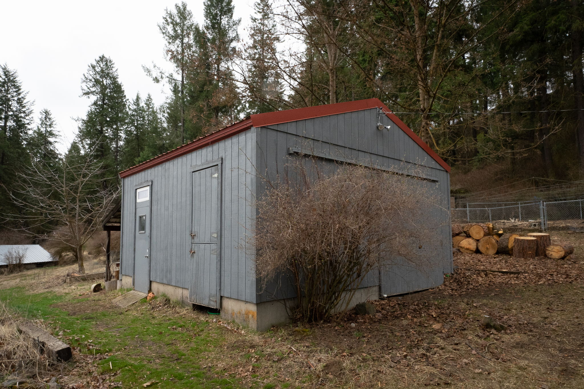 Insulated Seed Room and Potential for Horse Stable