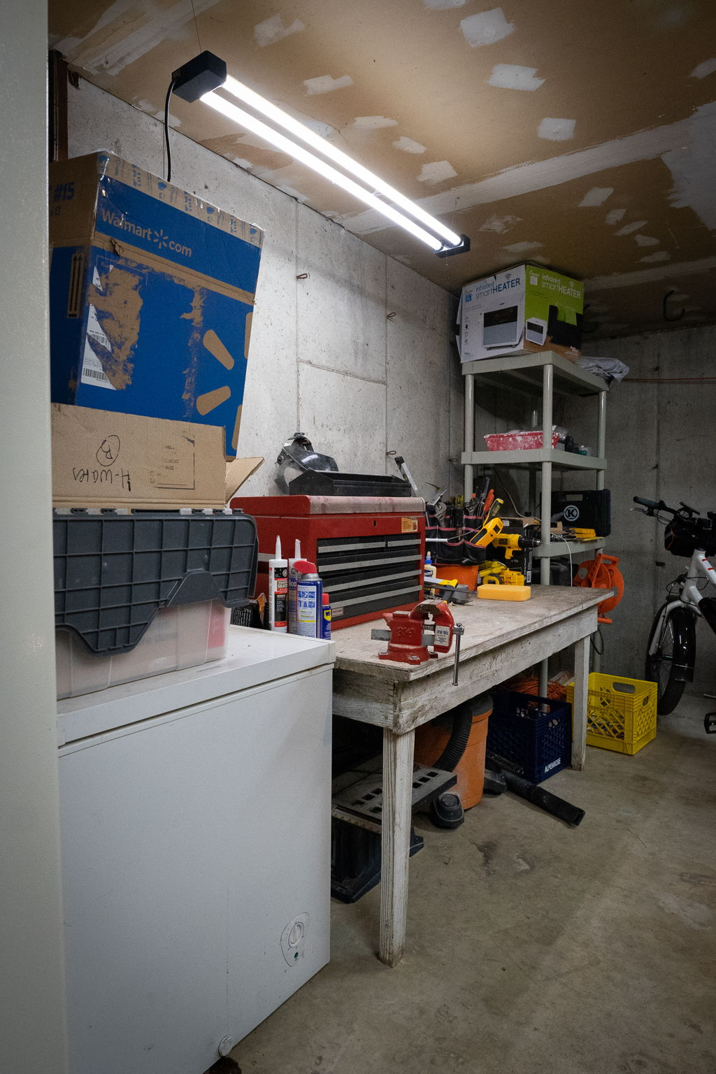 Workbench Area in Garage