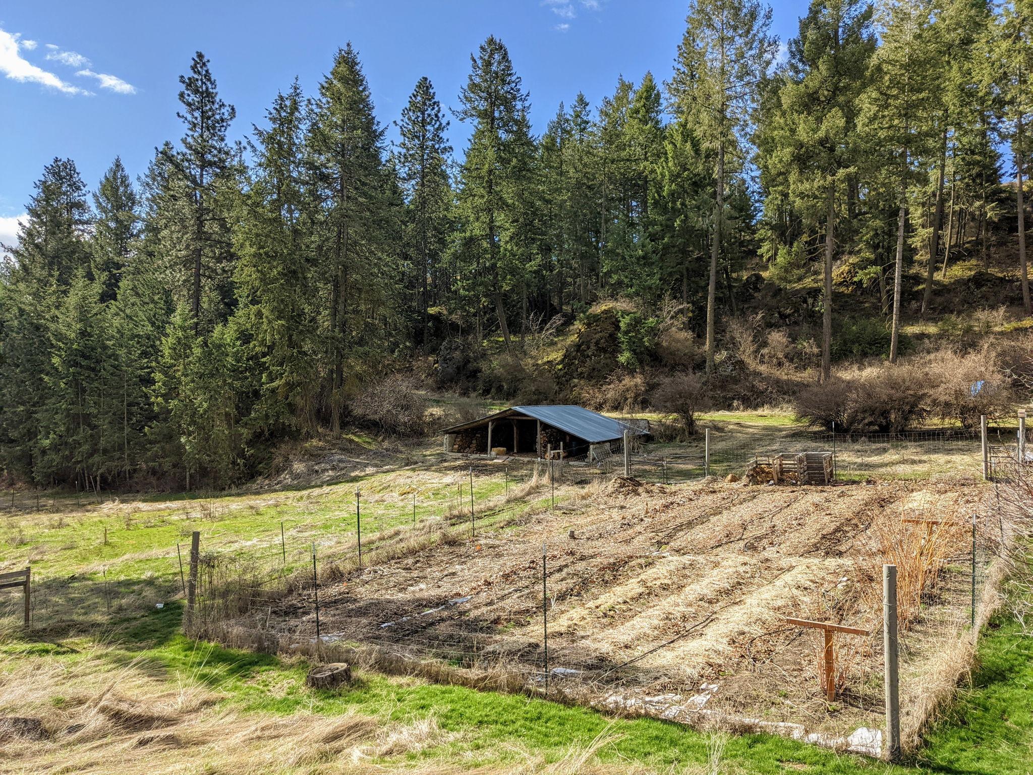 Fenced Garden Area 75X50