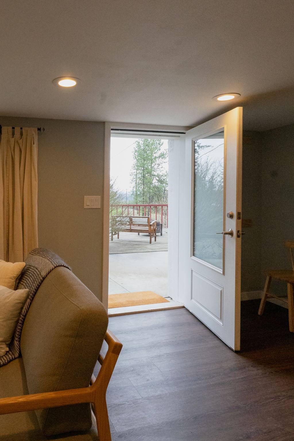1st Floor Exterior Door to 1st floor Deck.