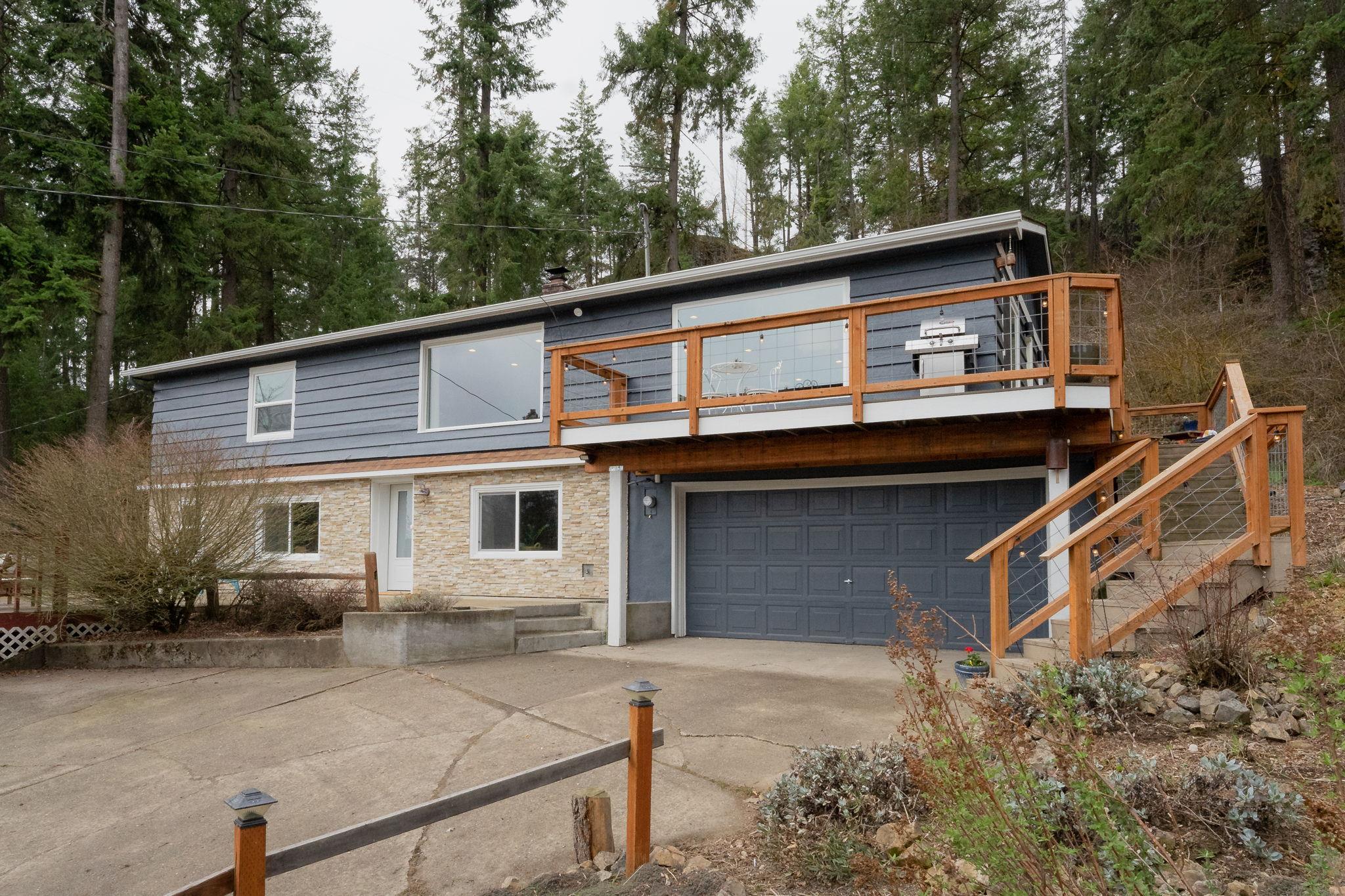 Rebuilt Deck and Native Perennial Garden