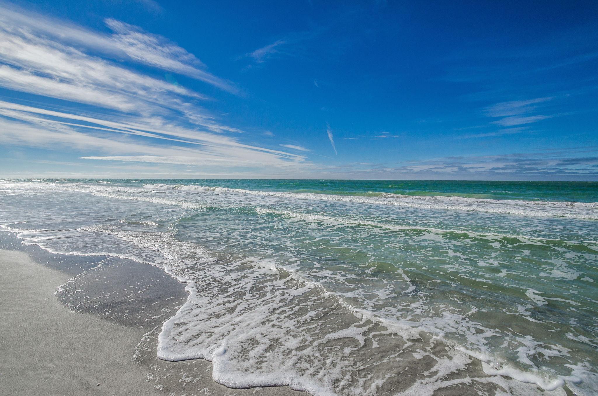 25--Sand  Key Club Beach