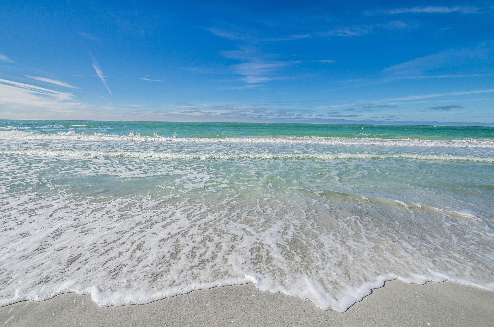27--Sand  Key Club Beach