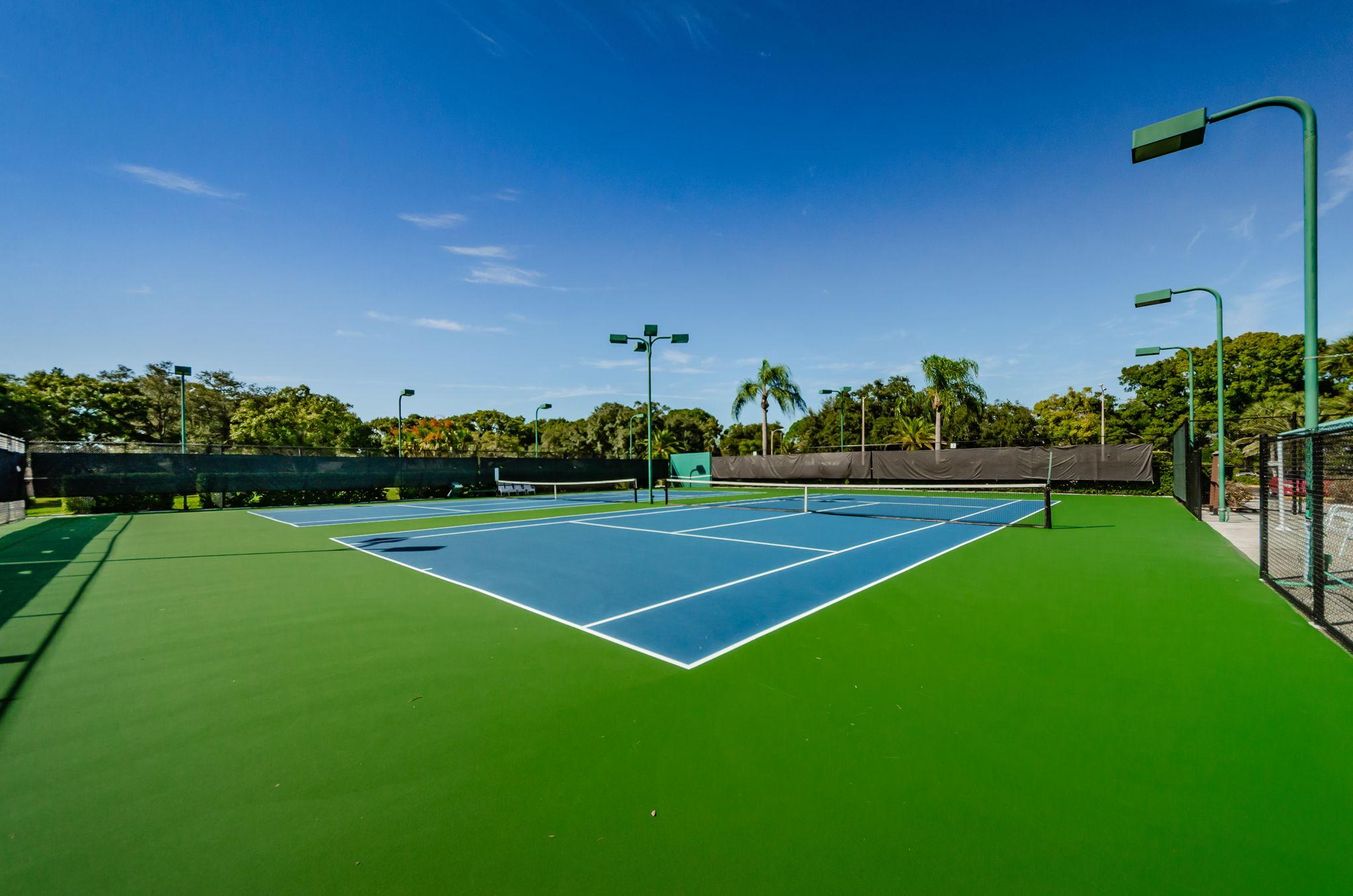 20-Tennis Courts