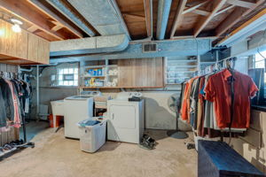 Basement Laundry