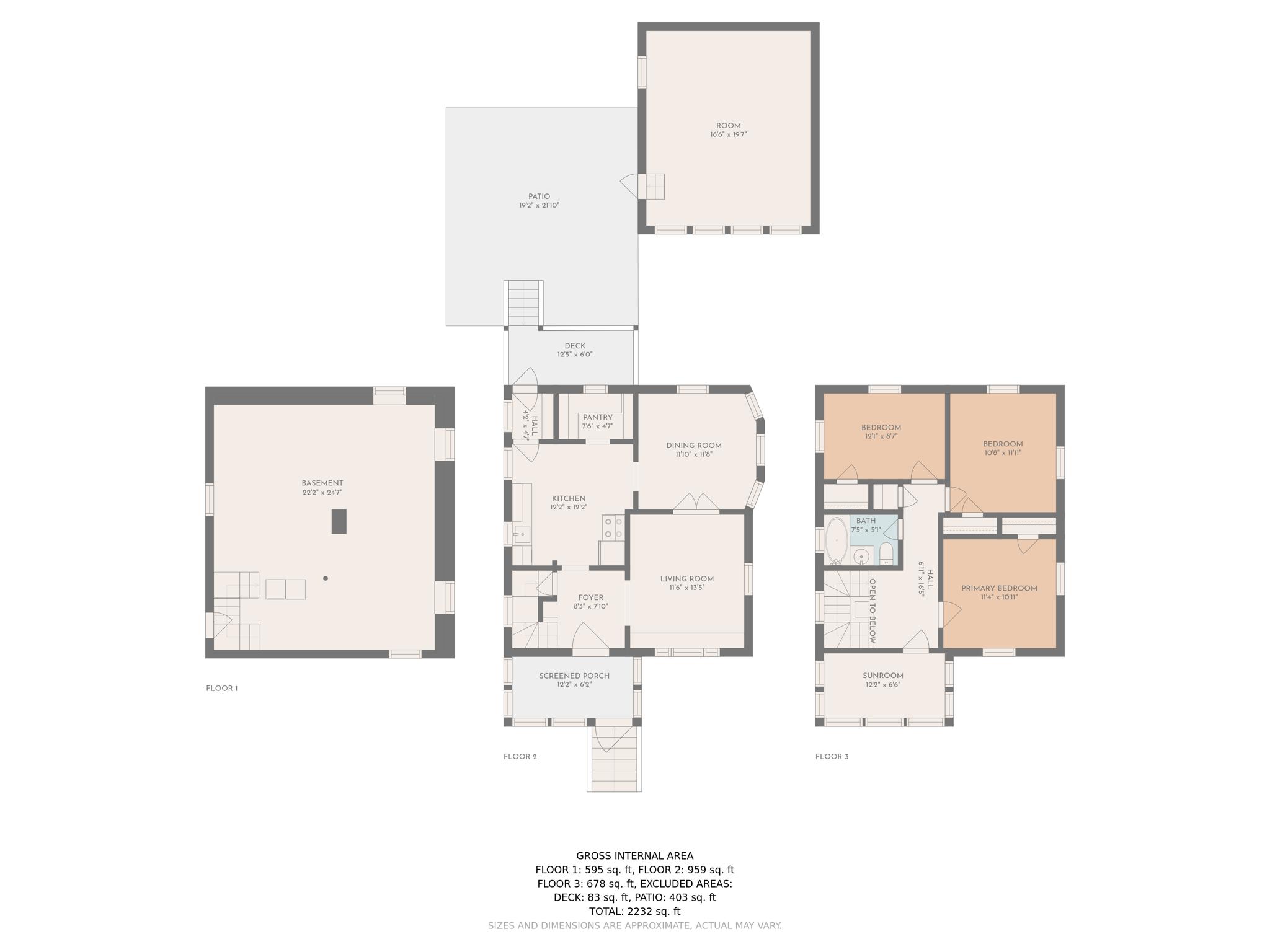 Floorplan All Floors