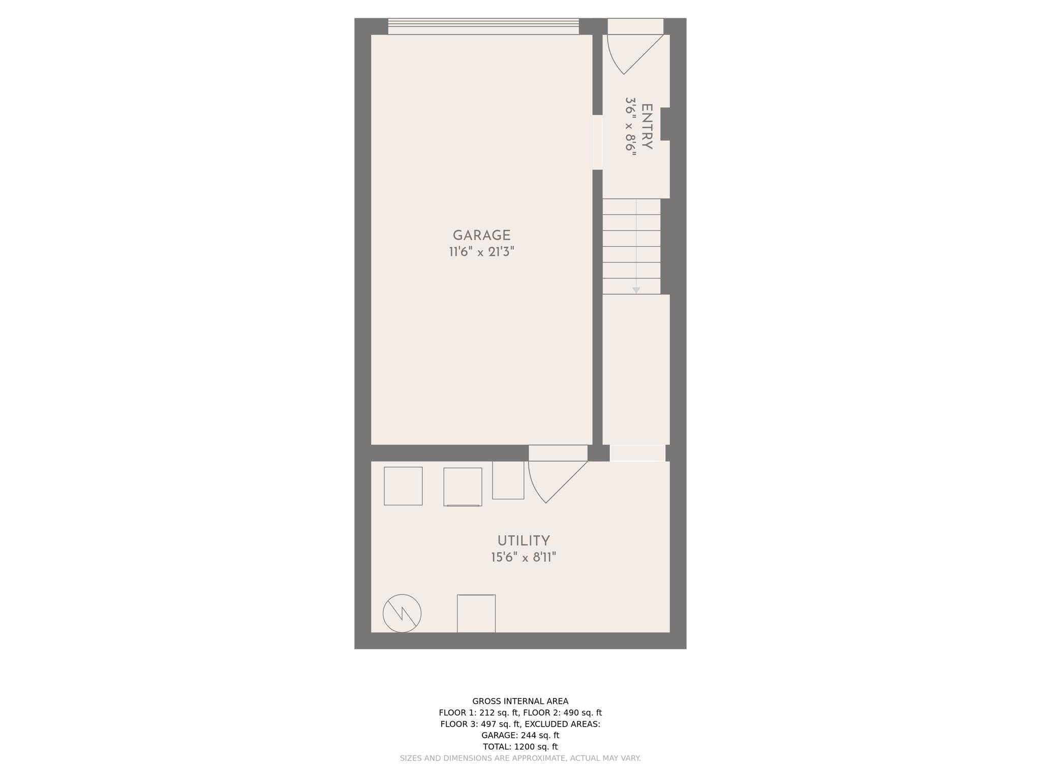 Garage/Laundy/Storage