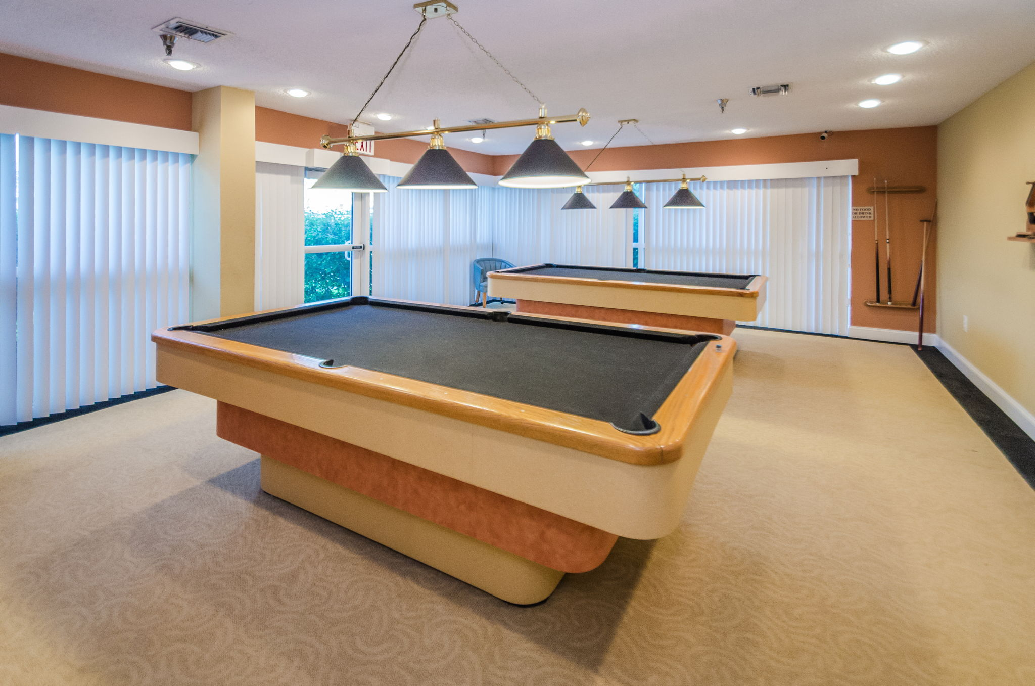 Clubhouse Pool Room