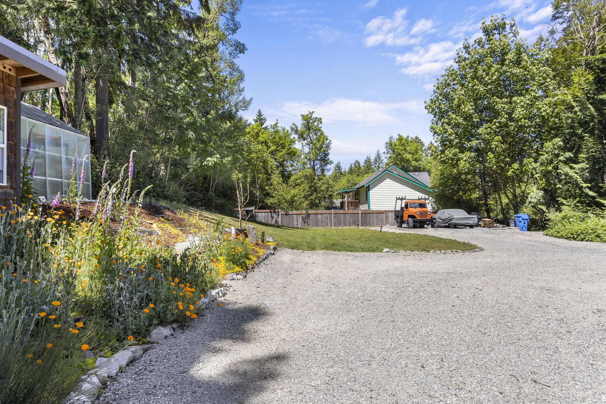 You will have plenty of room for guest parking and or RV storage!