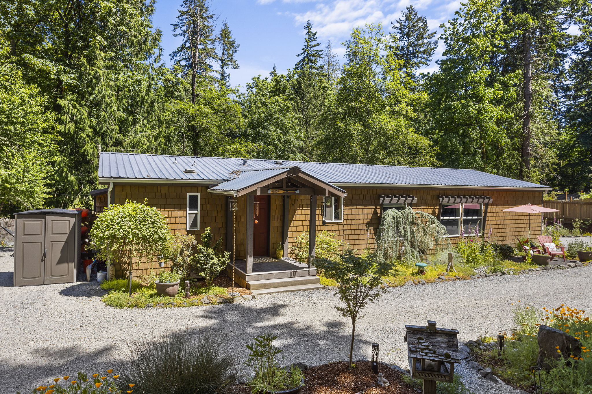 Welcome Home to your Fox Island retreat!