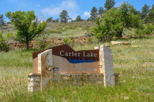 Carter Lake Sign