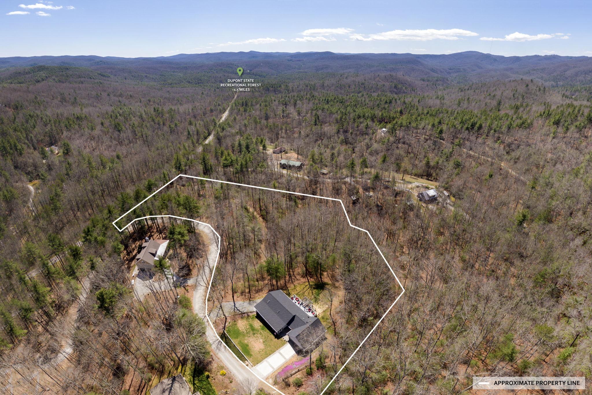 Aerial w/ Property Line