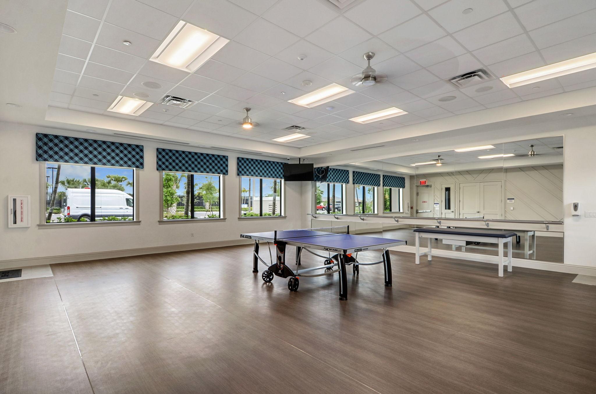 Exercise Studio/ Ping Pong