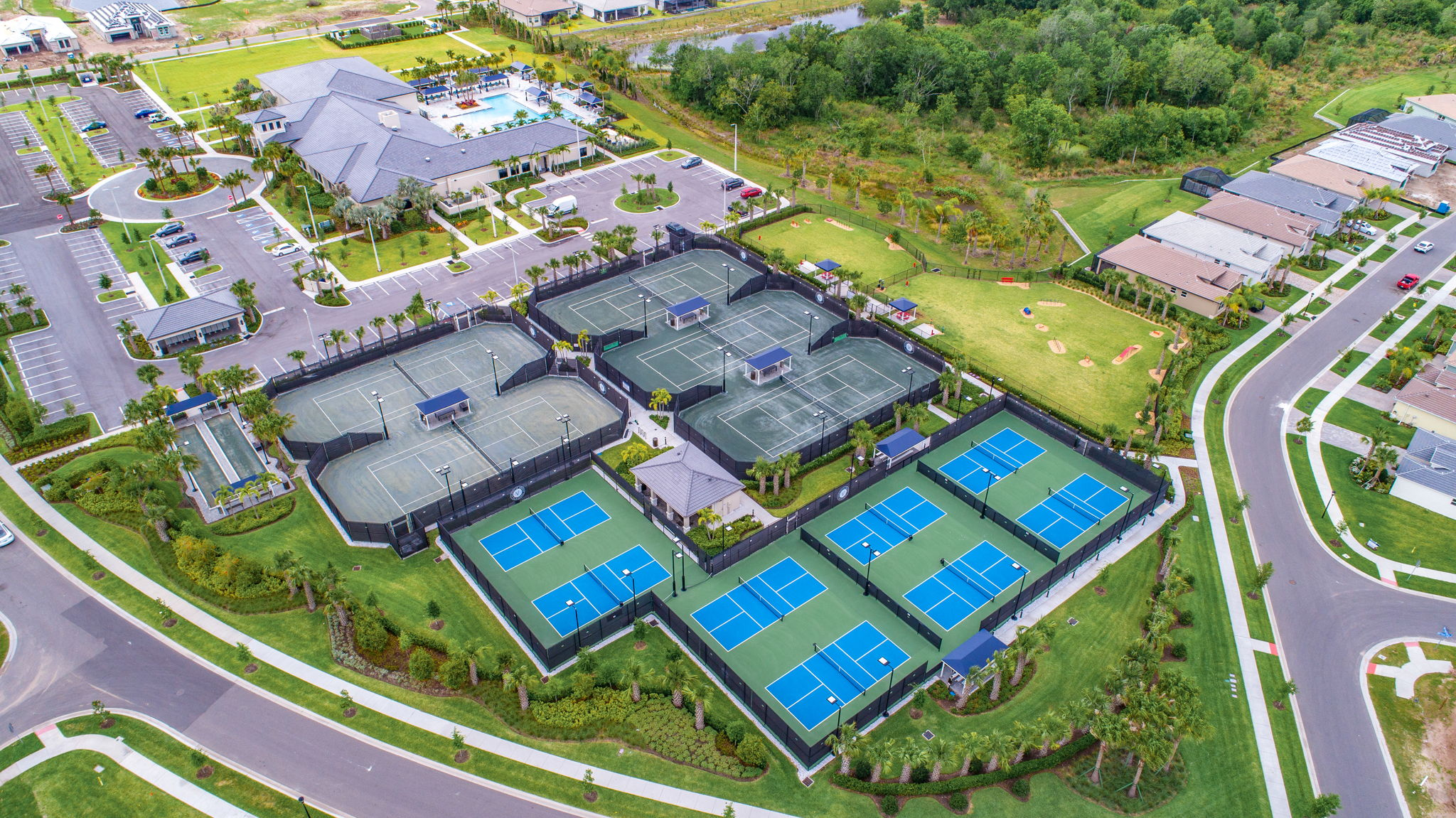Tennis, Pickleball and Bocce Ball