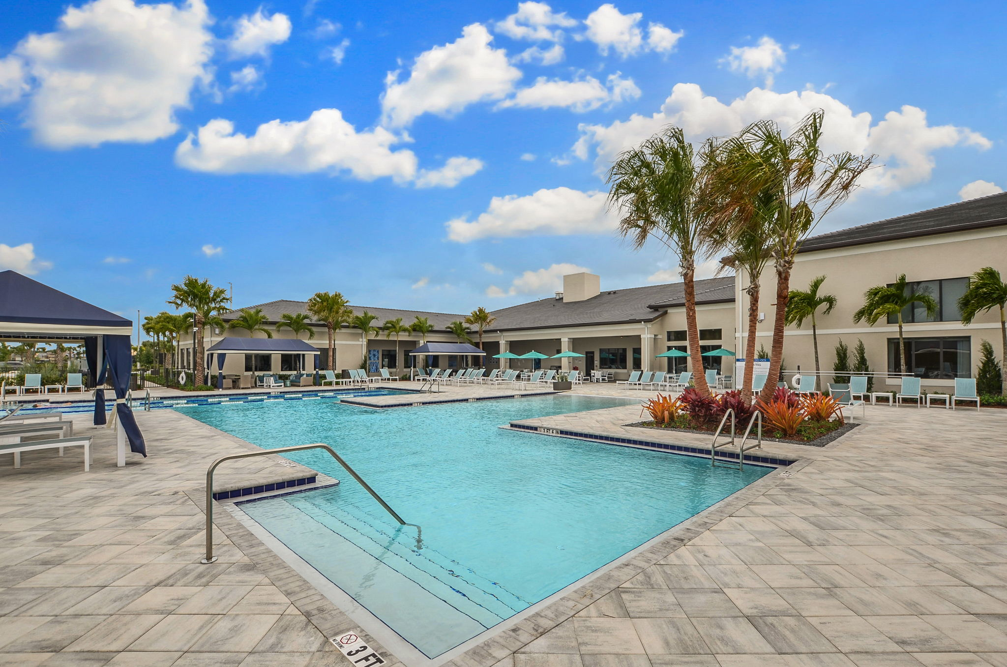 Rear Clubhouse/Pool Area