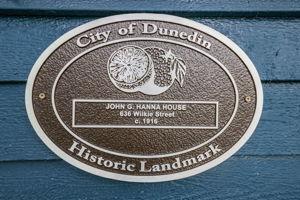 City of Dunedin Historic Landmark