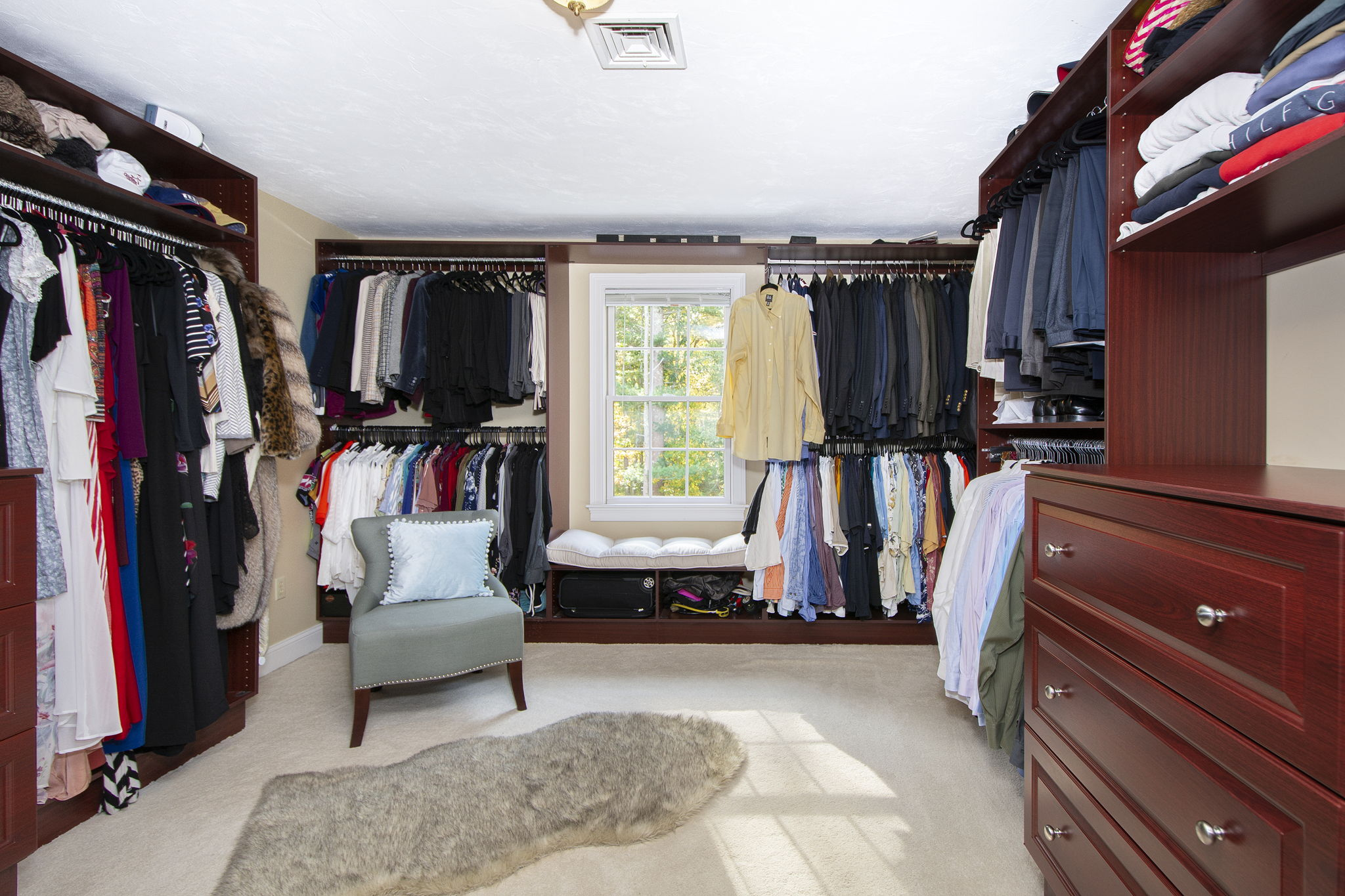 Primary Walk in Closet
