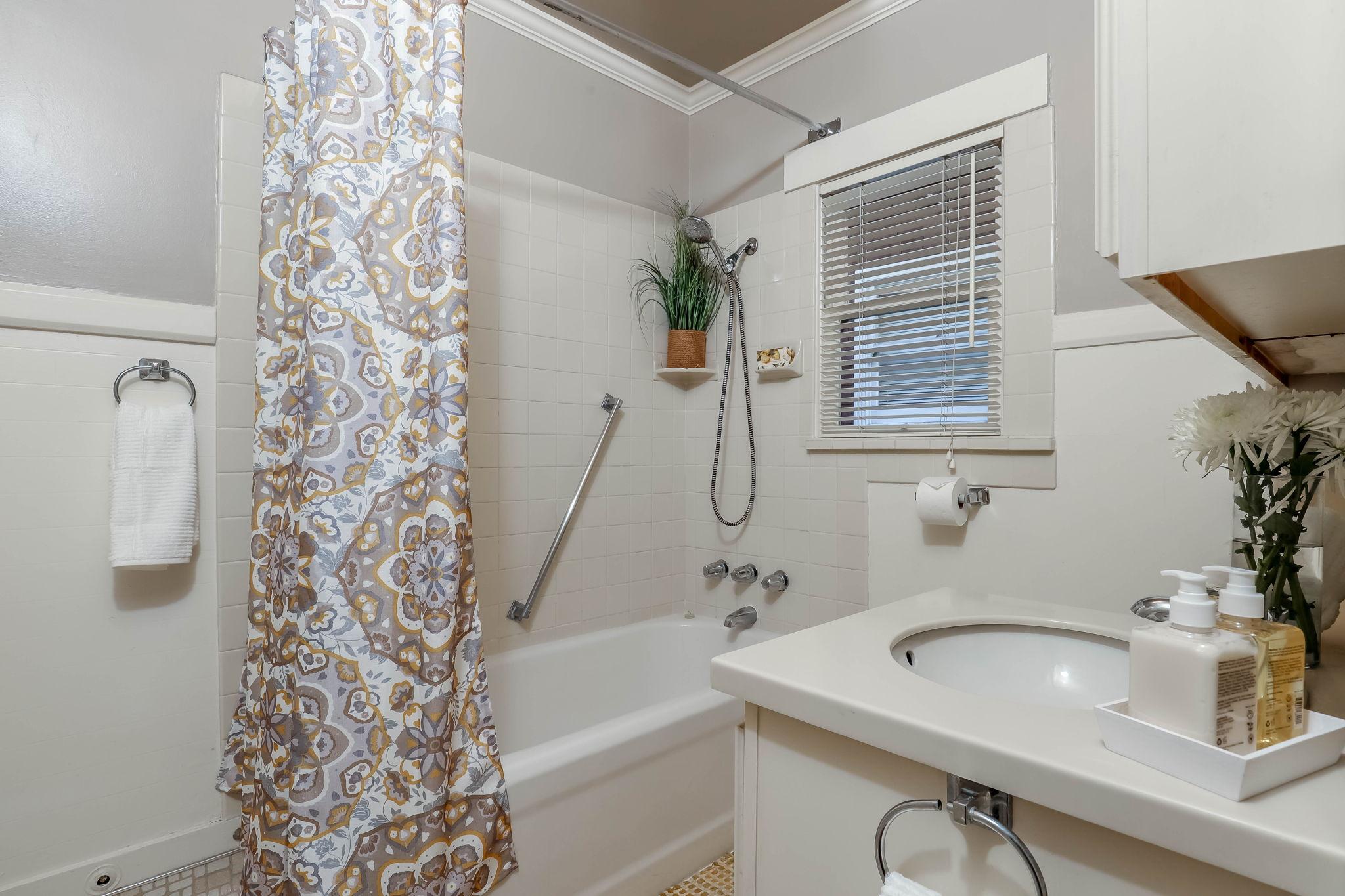 Updated Bathroom off Bedrooms