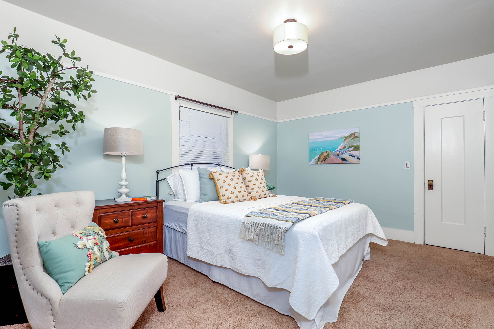 One of 2 Spacious Bedrooms