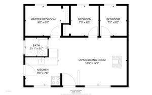 Guest Cottage Floorplans