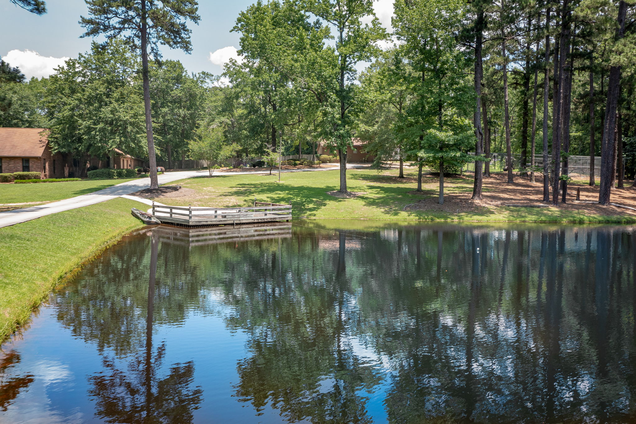 Pond/Front Yard