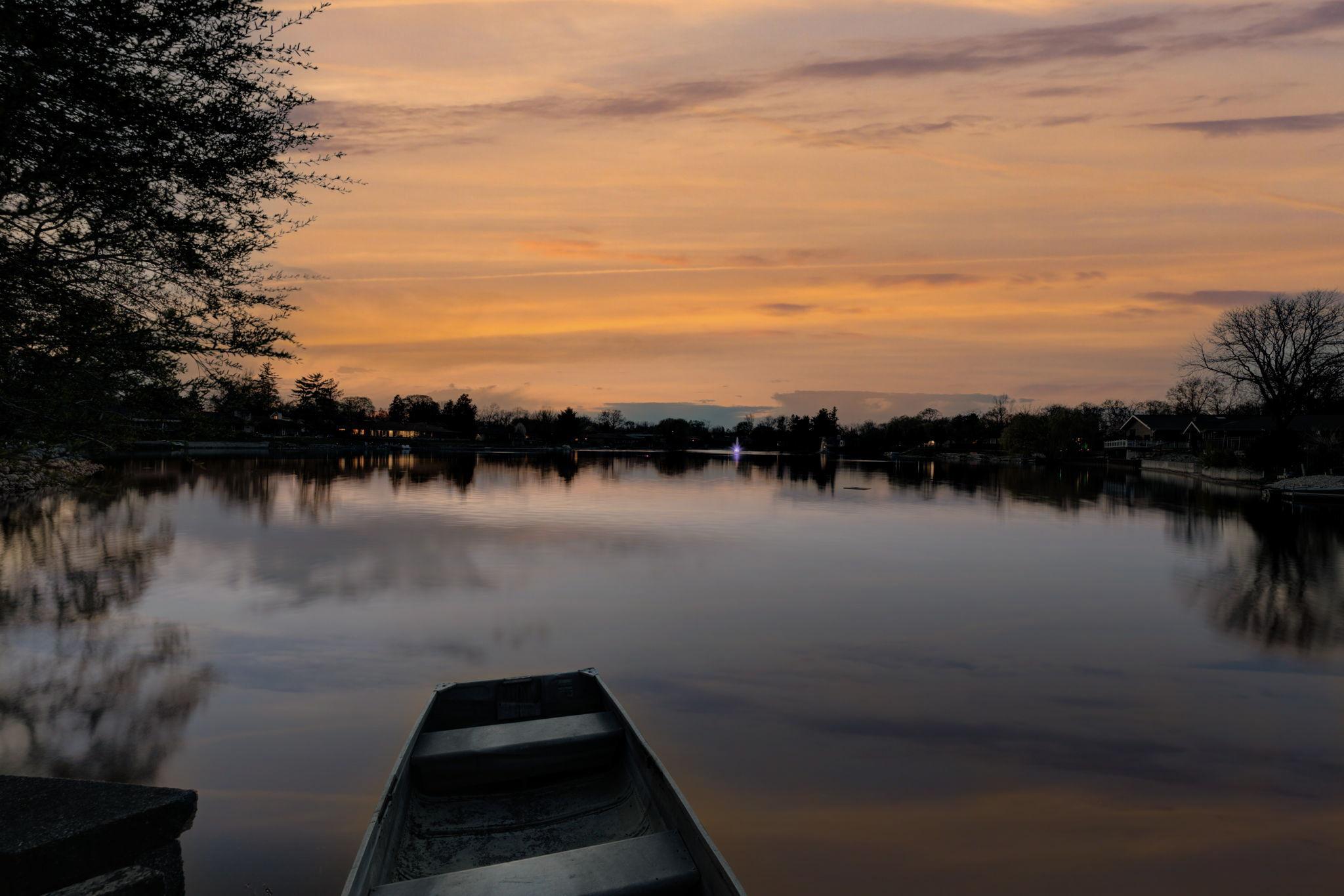 Boat Dock Twilight