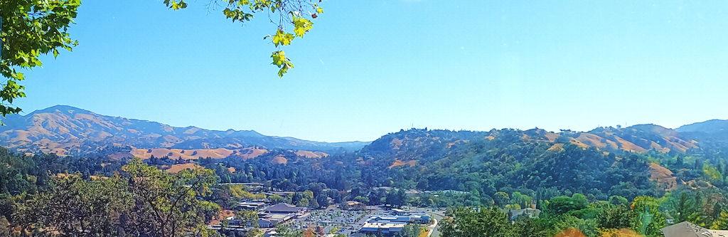 Mt Diablo and Valley Views