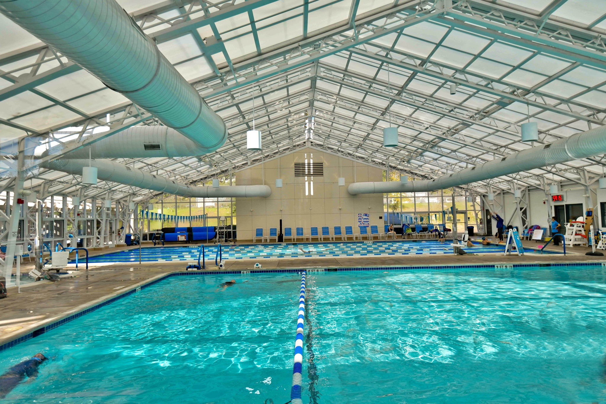 Pools at the Fitness Center