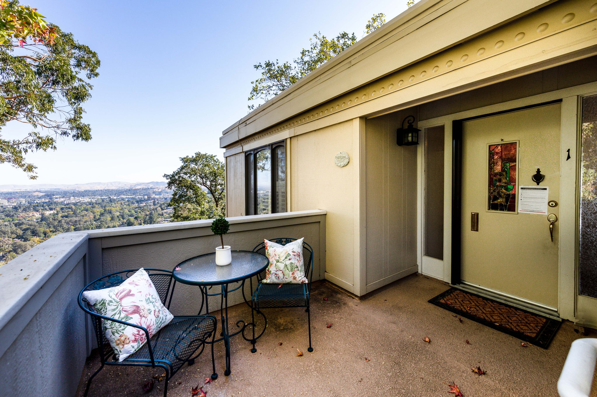 Private Front Porch with Great Views