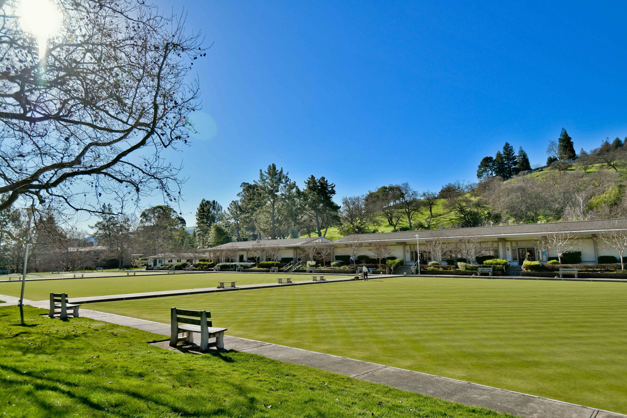 Hillside Clubhouse Lawn Bowling Greens