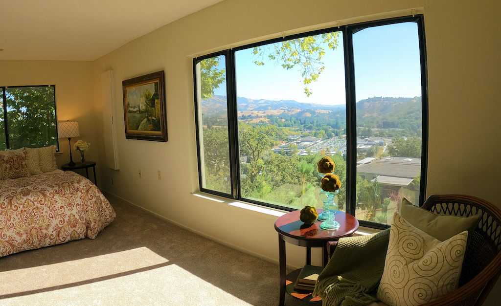 Gorgeous Views from Master Bedroom