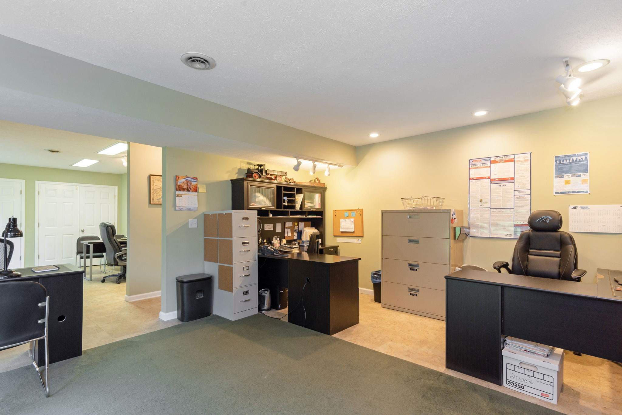 Lower Level Office Space