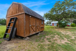 Shed is Negotiable