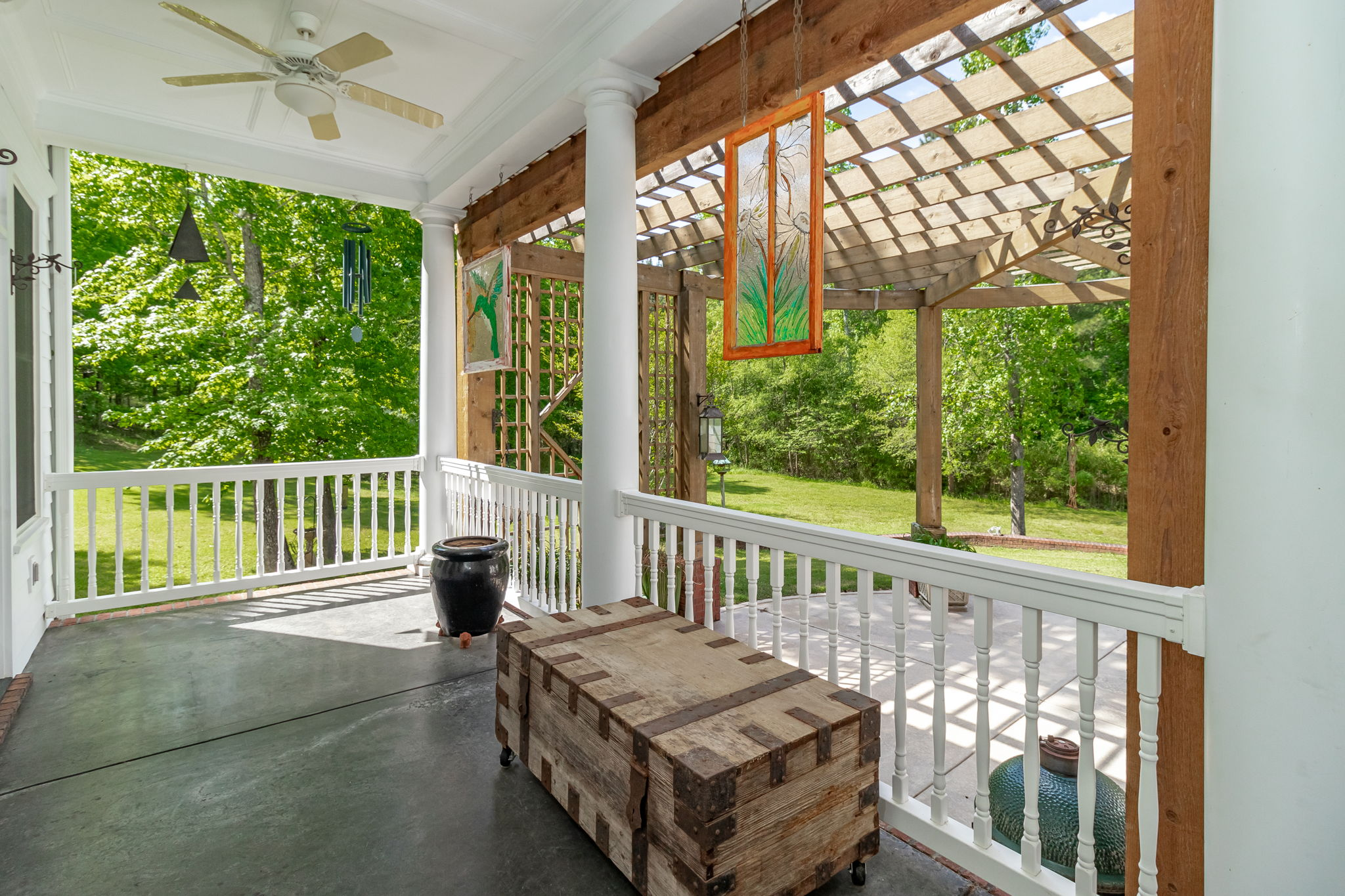 Back Covered Porch