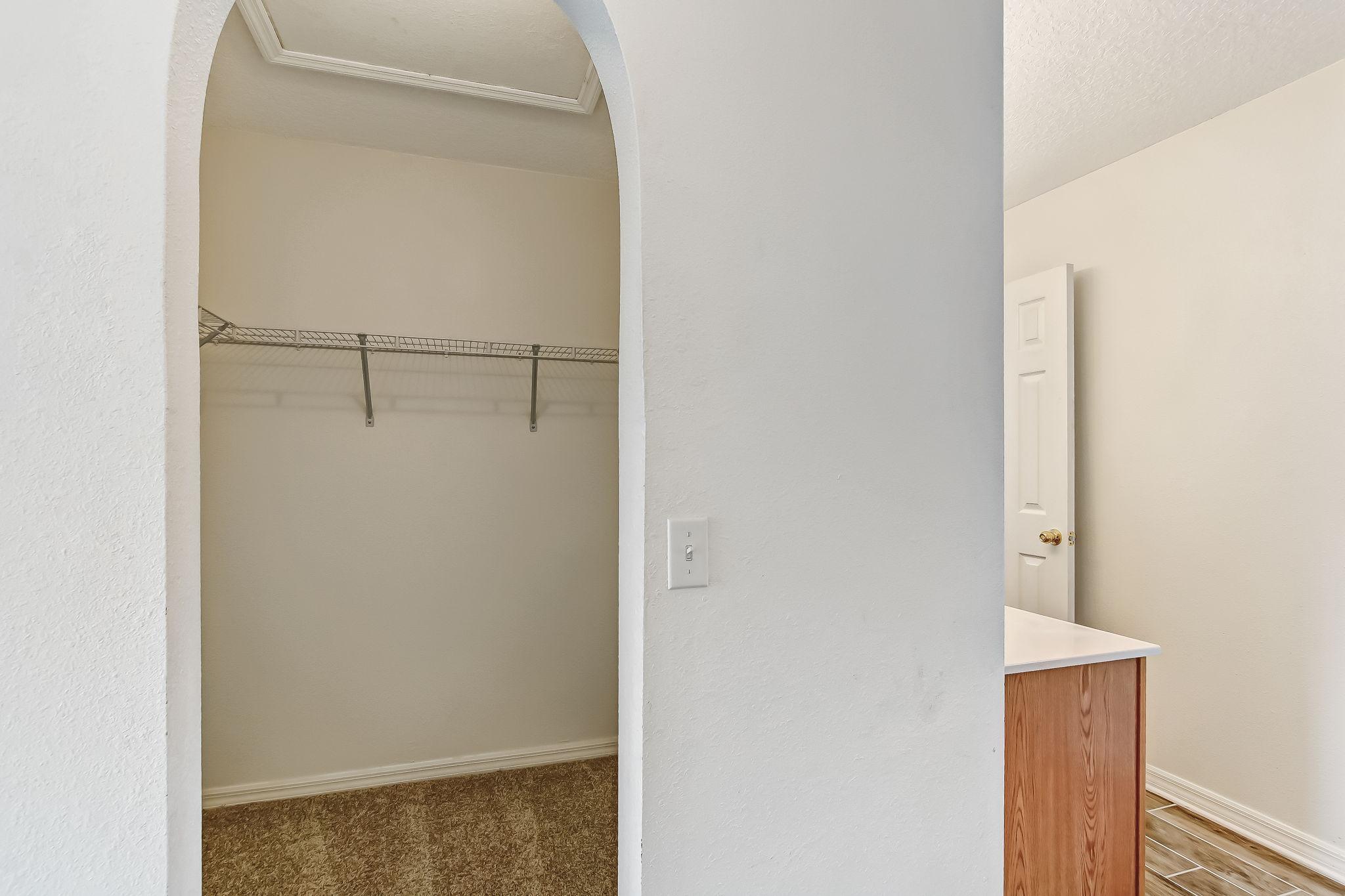 Primary Closet/His