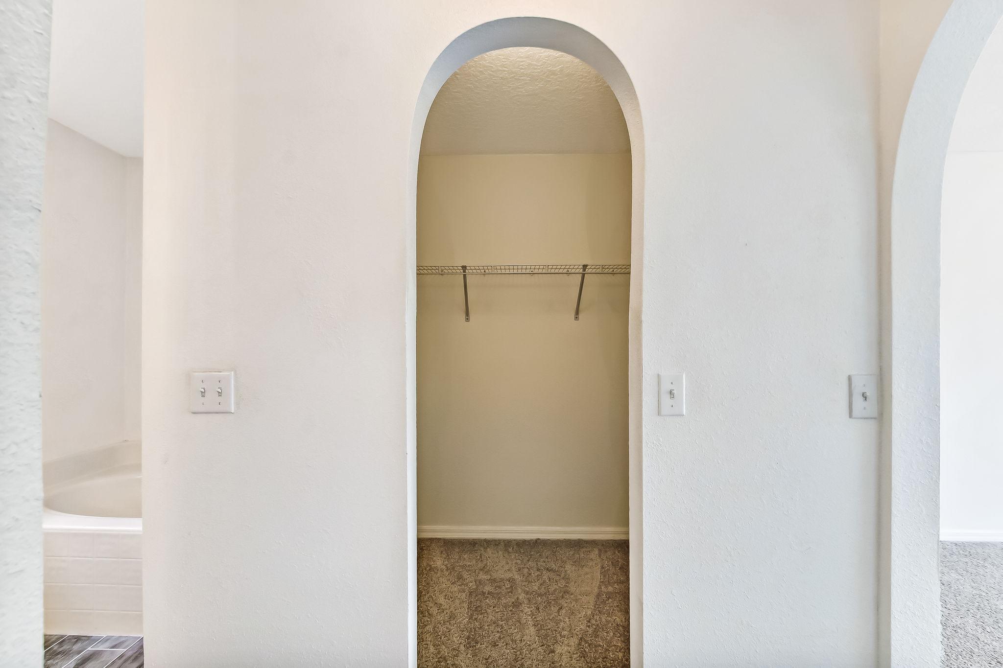 Primary Closet/Hers